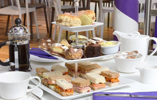 Cadbury World Afternoon Tea