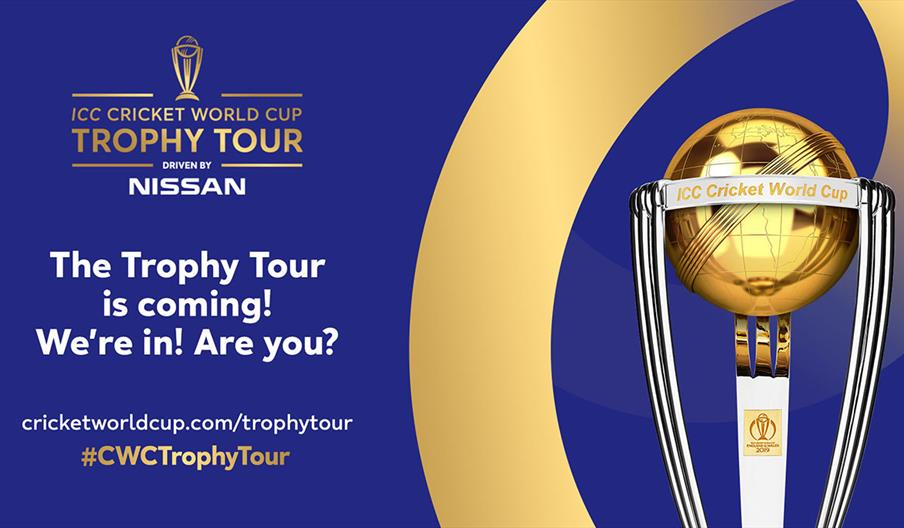 ICC Cricket World Cup Trophy Tour - Stoke